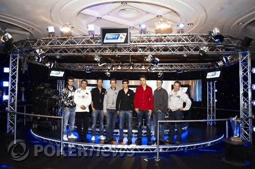 Финалистите в Главния турнир на EPT Лондон