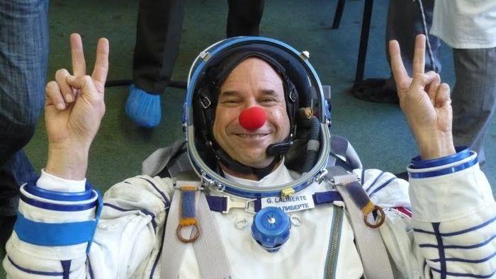 Лалиберте - космонавт