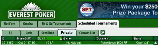 Hoje às 17:35 0 PokerNews Cash Freerolls na Everest Poker 101
