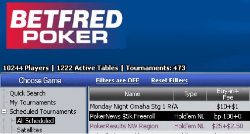 ,000 PokerNews Cash Freerolls na Betfred Poker 101