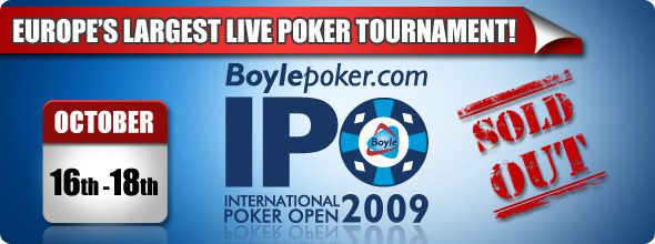 BoylePoker International Poker Open – изненада или не? 101