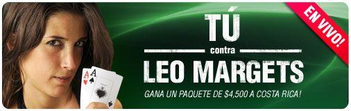 888: En juego, contra Leo Margets, un paquete de 4.500$ a Costa Rica... 101