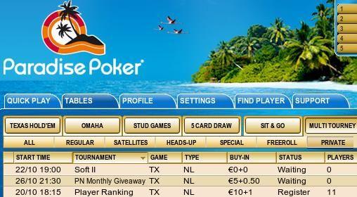 Hoje às 21:30 Ganhe Máquinas Fotográficas, TV's LCD e iPod's na Paradise Poker! 101