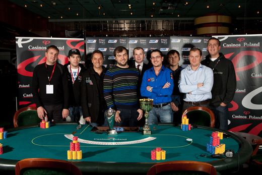 Christophe Benzimra nyerte a 4. alkalommal megrendezett EPT Varsó pókerversenyt 101
