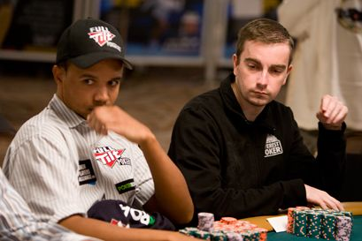 Phil Ivey и Antoine Saout