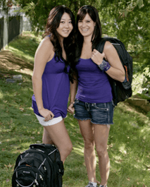 Tiffany Michelle и Maria Ho