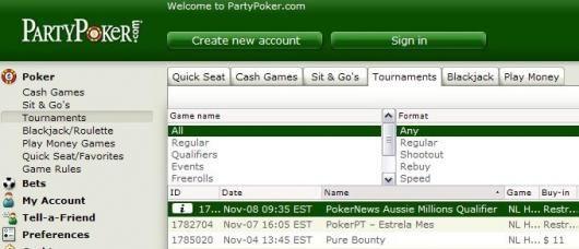 Din vej til den største poker turnering på den sydlige halvkugle!