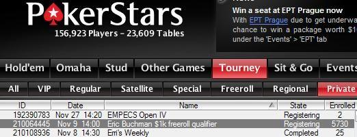PokerStars11月9日系列免费比赛即将开始! 101