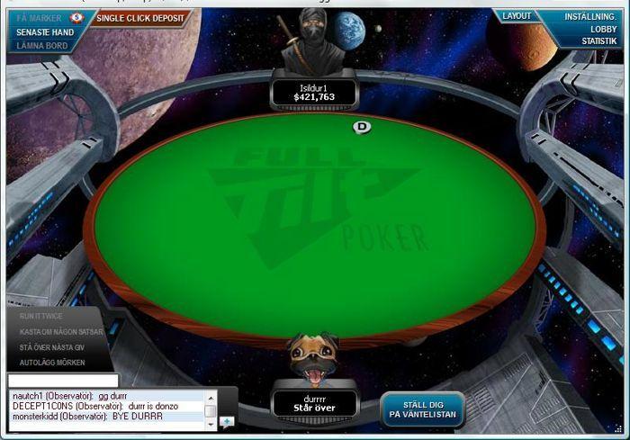 Durrrr pank på Full Tilt Poker? - Vem är denna Isildur1