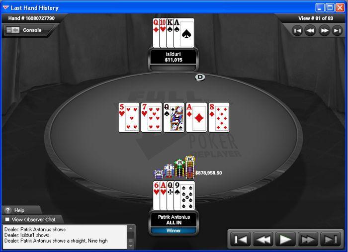 Den største potten som noen har vunnet i online pokerens historie!