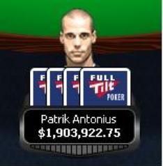 Antonius efter rekordpotten på $1.3 mil