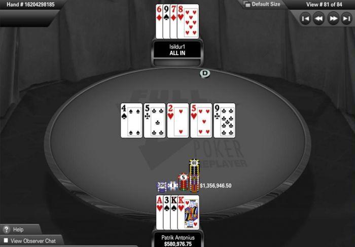 Патрик Антониус спечели най-големия онлайн покер... 101