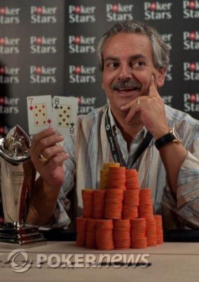 PokerStars.com EPT de Vilamoura: ANTONIO MATIAS, jugador portugués, campeón 101