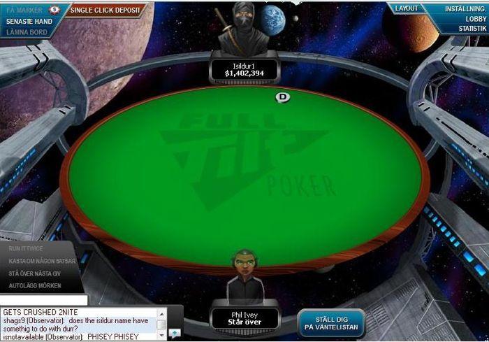 Isildur1 efter $1.1 miljoners potten på Full Tilt mot Ivey