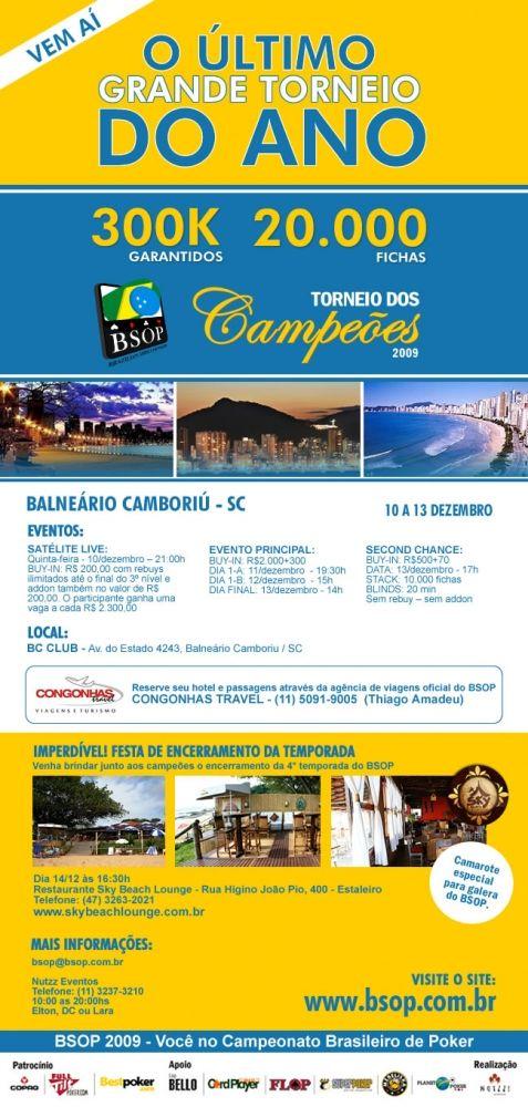 Torneio dos Campeões BSOP 2009 - 300K Garantidos! 101
