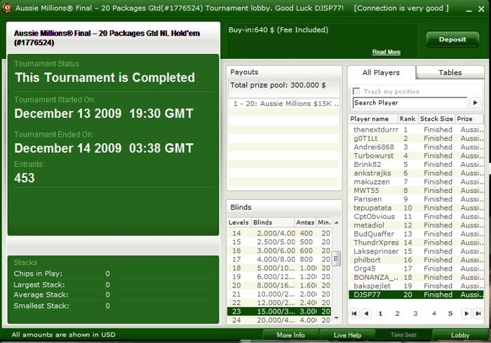 Daniel Perfeito Também vai ao Aussie Millions 2010 com a PokerNews 103