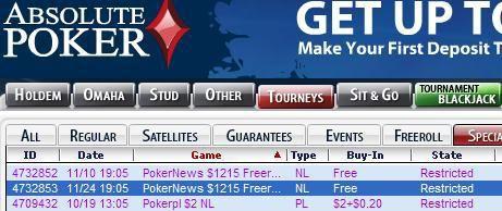 Kontanter och $200k biljetter att vinna för PokerNews spelare!