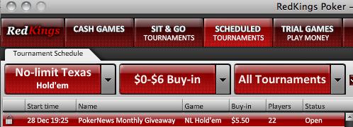 Hoje pelas 19:35 Portáteis, Playstation 3 e mais para Ganhar na RedKings Poker 101