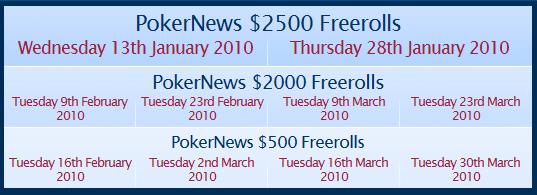 PokerNews Betfred Фрийроли