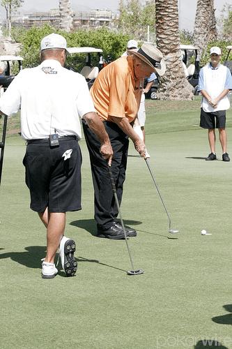 Doyle jugando contra Tomko (Foto: PokerWire)