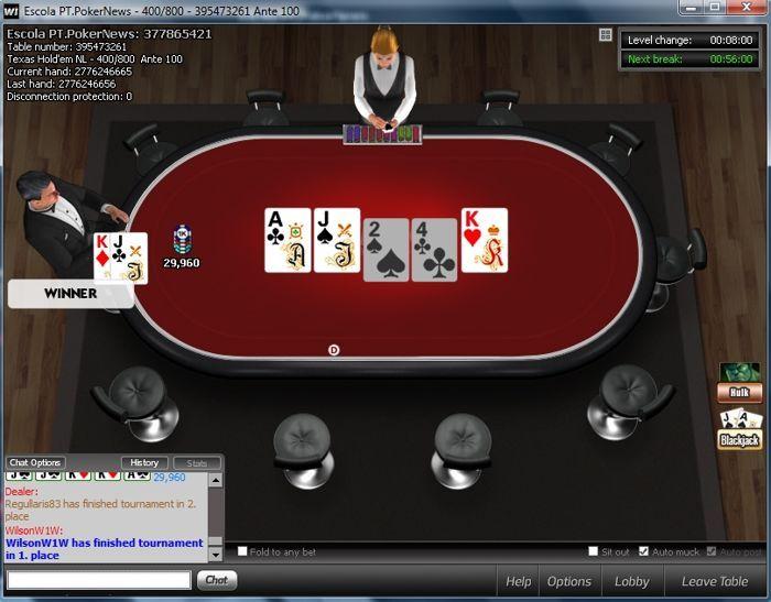 WilsonW1W Vence 3ª Etapa da Liga PT.PokerNews 101