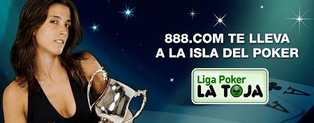 Este año la Liga 888.com Poker La Toja es espectacular, y hay muchos satélites online, en vivo... y un premio muy especial para el primer clasificado