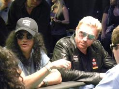 Slash and Boris Becker