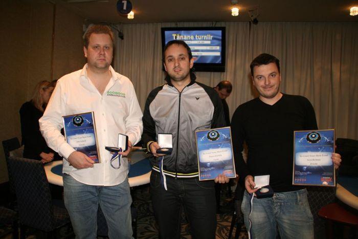 Vasakult: Imre Leibold, Paavo Korkka, Sven Reimaa