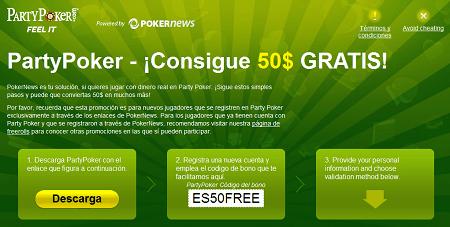 ¡PokerNews y PartyPoker dan la bienvenida al 2010 con 9.000$ en freerolls! 101