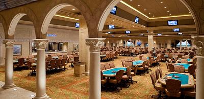 Ésta es la poker room del Borgata