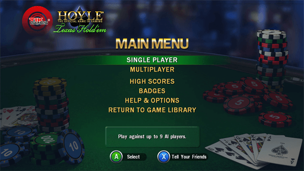 Hoyle Texas Hold'em за Xbox 101