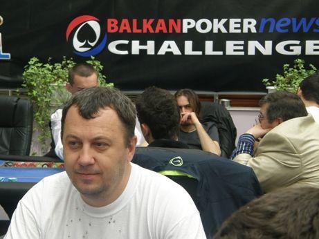 Наско по време на BALKANPOKERNEWS CHALLENGE 2009