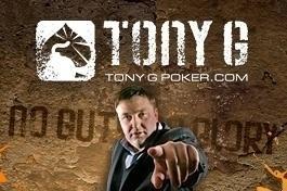 """El skin de TonyG Poker tenía, como podeis observar, como """"slogan"""": """"Sin pelotas, no hay gloria"""" (""""No guts, no glory"""")"""