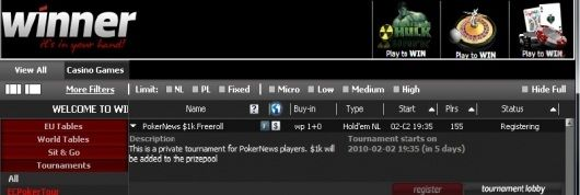 Torneios Grátis Winner Poker - Amanhã é o último dia para te Qualificares para o... 101