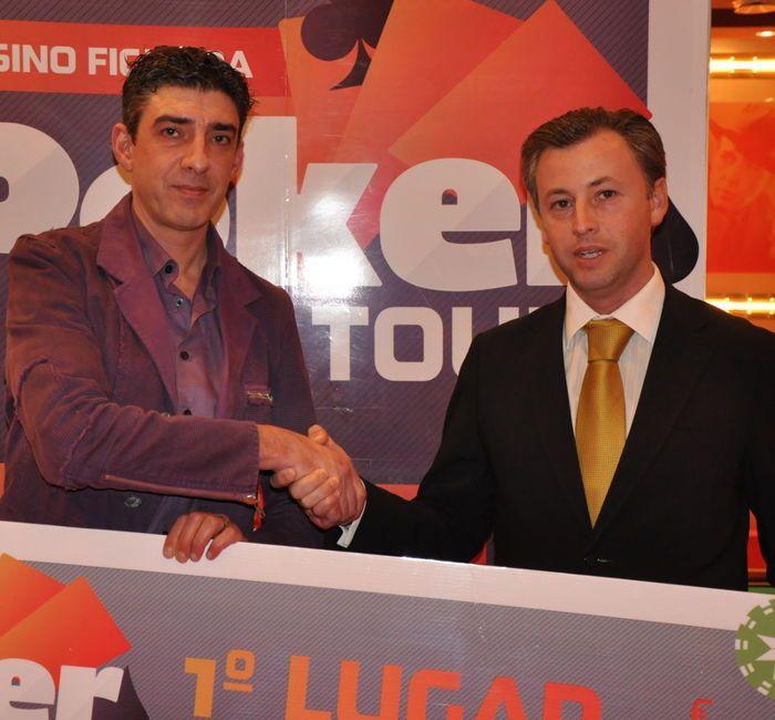 Luís Pereira Campeão da #2 Etapa Figueira Knock-Out Poker Tour 101