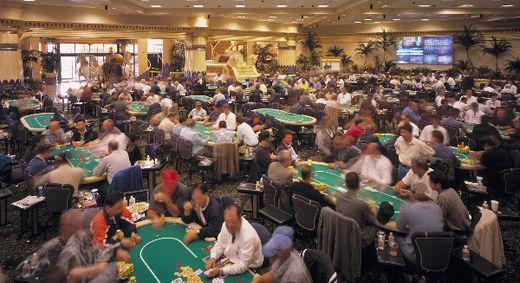 A Commerce Casino pókerterme