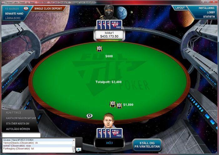 Isildur1 med över $400k vid bordet