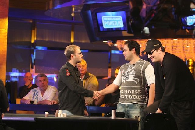 De Wolfe will have a second chance to make the final table today