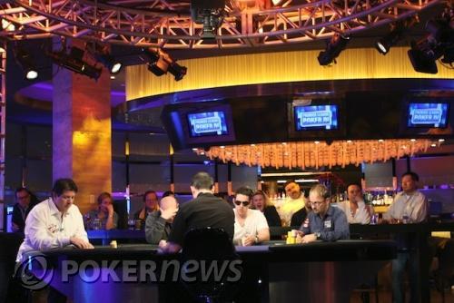 A PartyPoker Premier League IV. döntő asztala