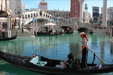 El Venetian, un casino espectacular
