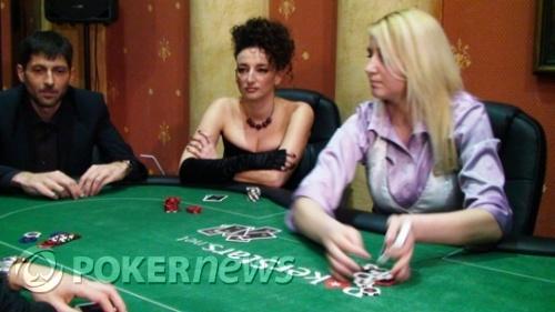 Деси Тенекеджиева в покер роля