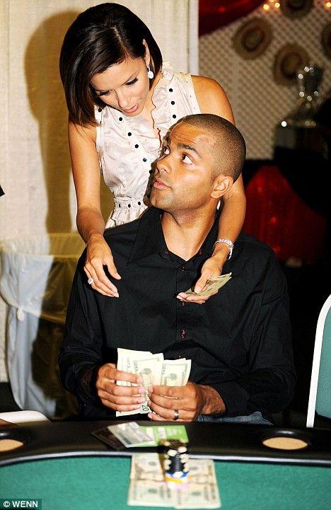 Tony Parker jugando al poker