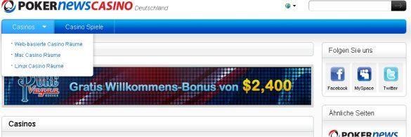 PokerNews gibt Relaunch von Casino.de.PokerNews.com bekannt 102