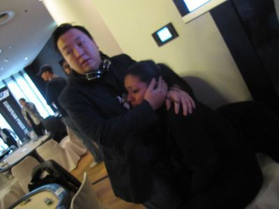 Momentos de preocupación en el Casino de Berlín (Foto de Assopoker)