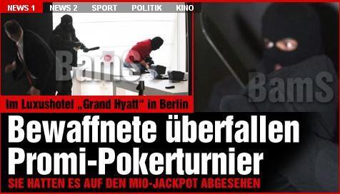 Atraco a mano armada en Berlín, ¡en pleno European Poker Tour! 107