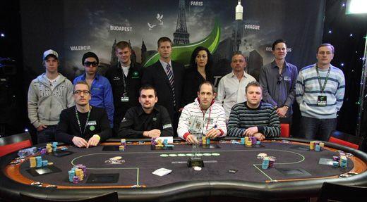 UNIBET Poker Open Budapest, Final Table