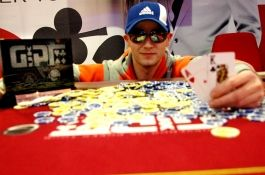 GUKPT Champion Collin McTaggart qualified online at BlueSquare