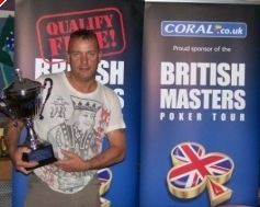 British Masters Champion Steve Holden