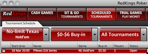 PokerNews k Added Series na RedKings Poker 101