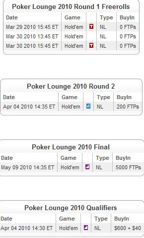 Qualify for the Channel 4 Poker Lounge at Full Tilt Poker 101